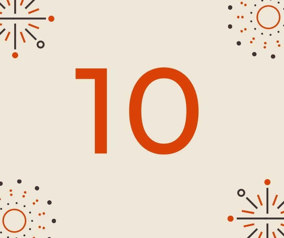 CON SỐ CHỦ ĐẠO: 10 mang ý nghĩa gì?